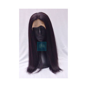 Raw Indian Natural Straight Lace Front Wig